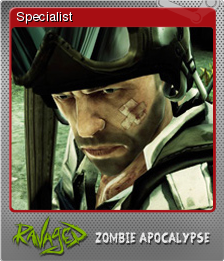 Ravaged Zombie Apocalypse Foil 3