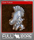 Full Bore Card 04 Foil