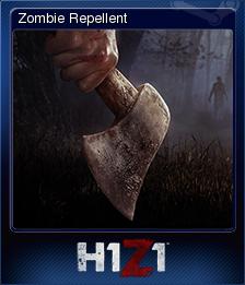 H1Z1 - Zombie Repellent | Steam Trading Cards Wiki | FANDOM