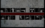 One Way To Die Background Death Icons
