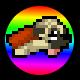 Super Mega Neo Pug Badge Foil