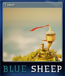 Blue Sheep Card 5