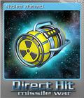 Direct Hit Missile War Foil 2