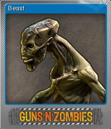 Guns n Zombies Foil 6