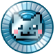 Nyan Cat Lost In Space Badge Foil