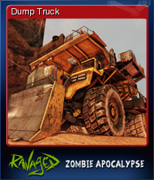 Ravaged Zombie Apocalypse Card 4