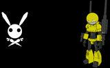 Boo Bunny Plague Background Gunny
