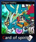 Card of spirits - Dragon healthy