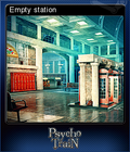 Mystery Masters Psycho Train Deluxe Edition Card 5