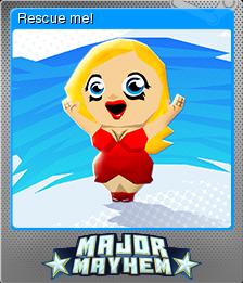 Major Mayhem Card 01 Foil