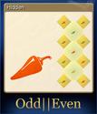 Odd Even Card 2