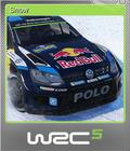 WRC 5 FIA World Rally Championship Foil 5