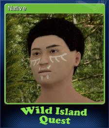 Wild Island Quest Card 5
