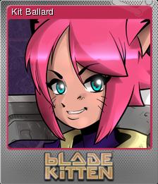 Blade Kitten Card 01 Foil