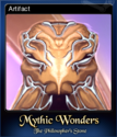 Mythic Wonders The Philosopher's Stone Card 5