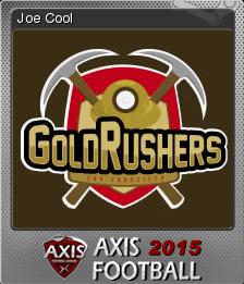 Axis Football 2015 Foil 4