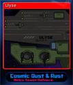 Cosmic Dust & Rust Card 2