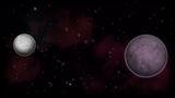 Orbit Background Orbit Moon and Parent