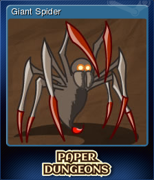 Paper Dungeons Card 2
