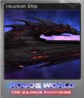 Robo's World The Zarnok Fortress Foil 2