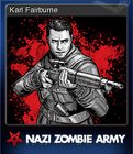 Sniper Elite Nazi Zombie Army Card 1