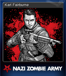 Sniper Elite Nazi Zombie Army Card 1