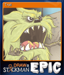 Draw a Stickman EPIC Card 1