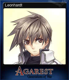 Agarest Generations of War Card 8