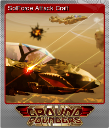 Ground Pounders Card 04 Foil