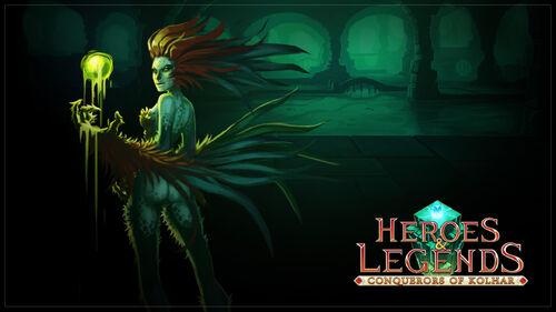 Heroes & Legends Conquerors of Kolhar Artwork 2