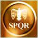Rome Total War Badge Foil