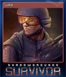 Shadowgrounds Survivor Card 3