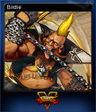 Street Fighter V Card 1