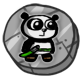 Super Panda Adventures Badge 2