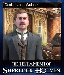 The Testament of Sherlock Holmes Card 2