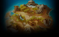 Braveland Pirate Background Tortuga Island