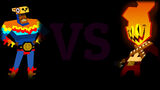 Guacamelee Super Turbo Championship Edition Background VS Flame Face