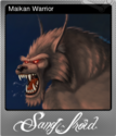Sang-Froid - Tales of Werewolves Foil 2