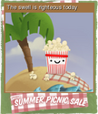 Summer Picnic Sale Card 04