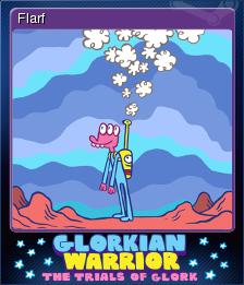 Glorkian Warrior The Trials Of Glork Card 5