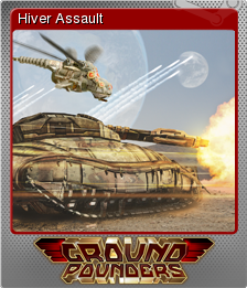 Ground Pounders Card 10 Foil