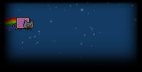 Nyan Cat Lost In Space Background Nyan Space