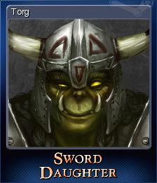 Sword Daughter Card 3