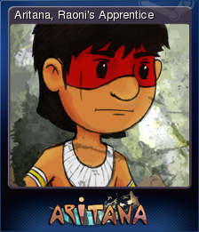 Aritana and the Harpys Feather Card 1