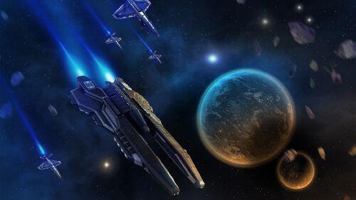Beyond Space Artwork 1