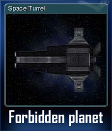 Forbidden planet Card 3