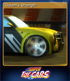 Super Toy Cars Card 2