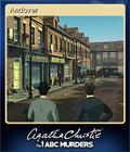 Agatha Christie - The ABC Murders Card 1