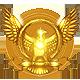 Hegemony Rome Badge Foil