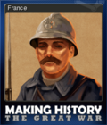 Making History The Great War Card 1